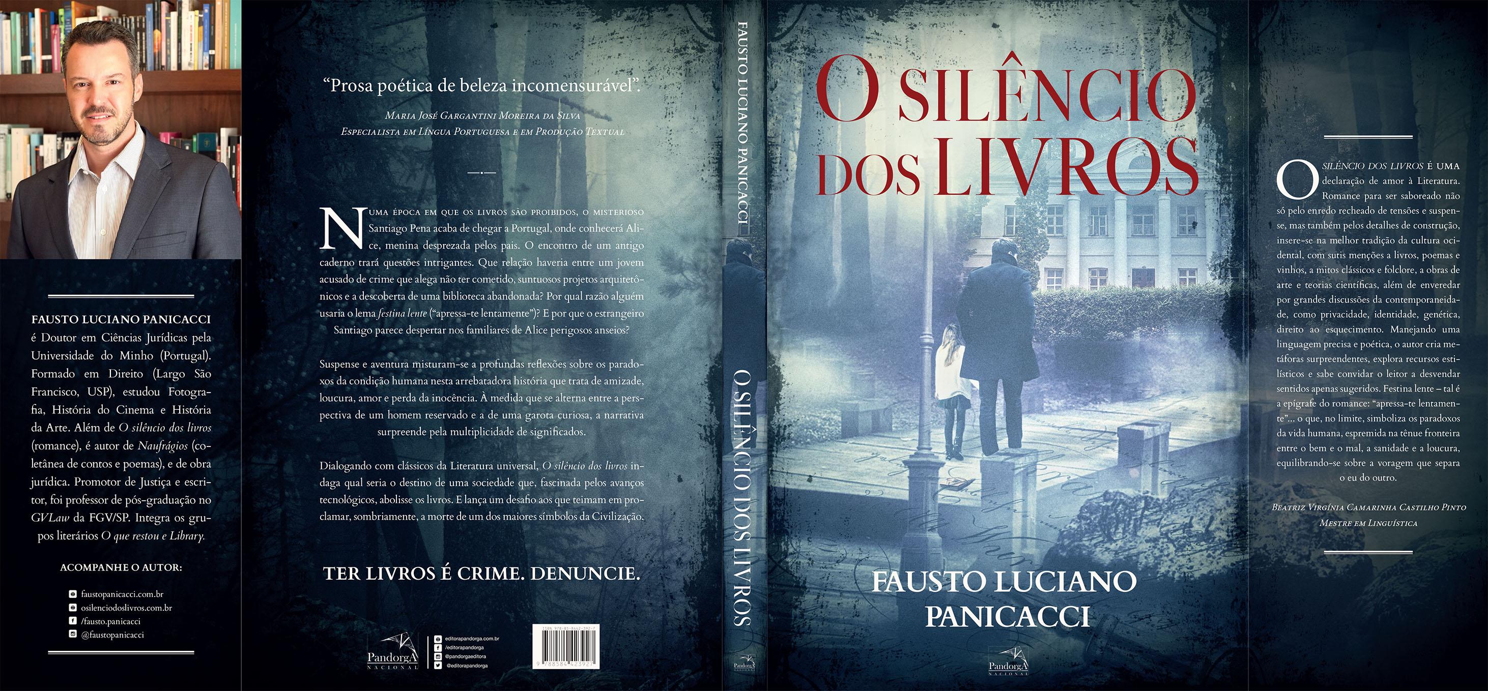 O silêncio dos livros - Fausto Luciano Panicacci