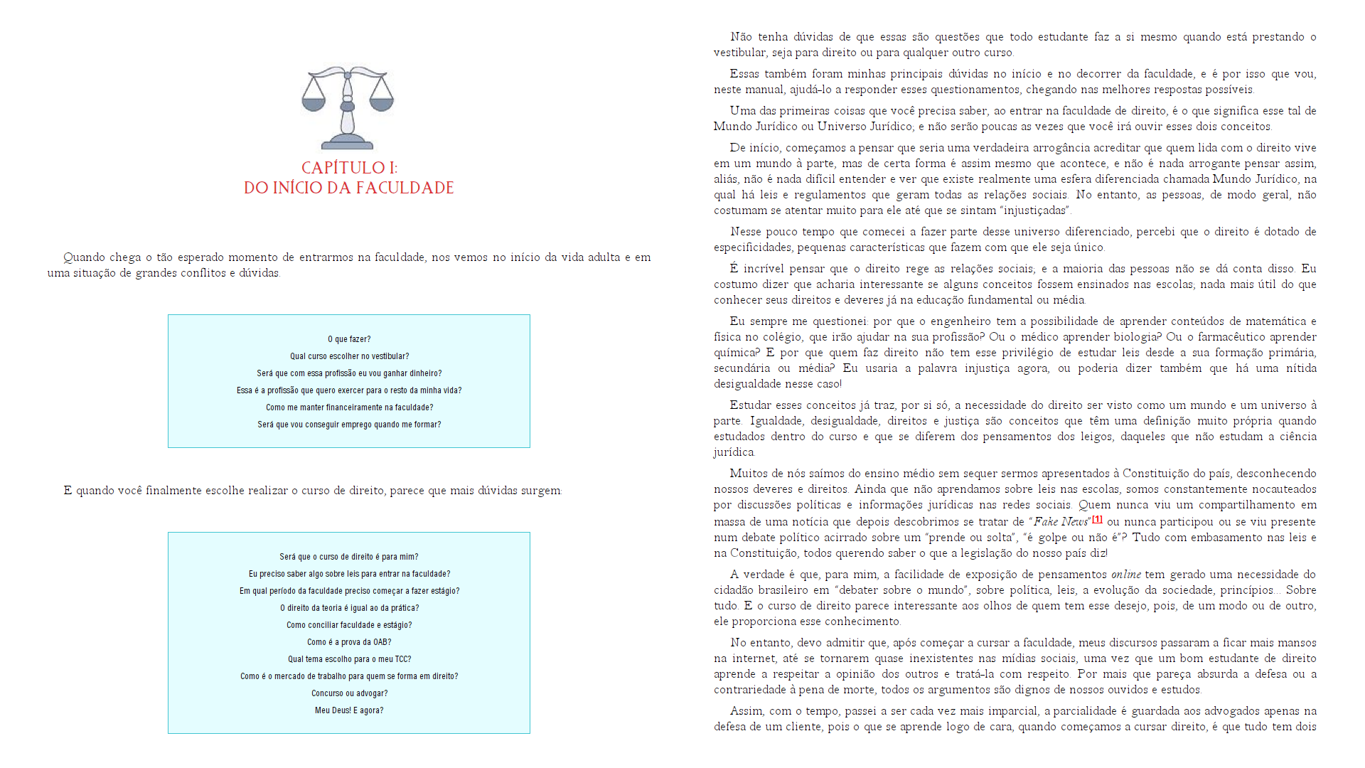 Manual do estudante de direito - Juliana Medeiros