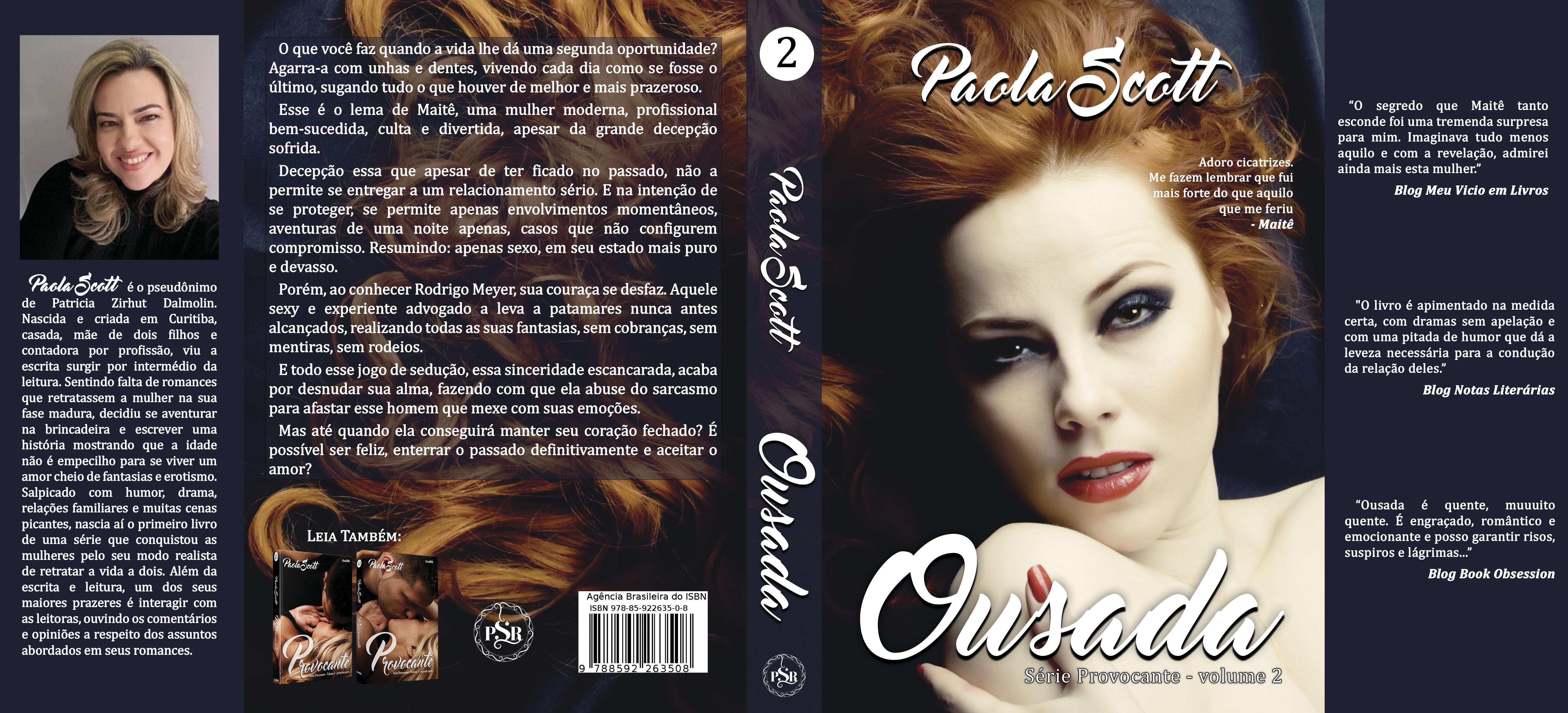 Ousada - série provocante 2 - Paola Scott