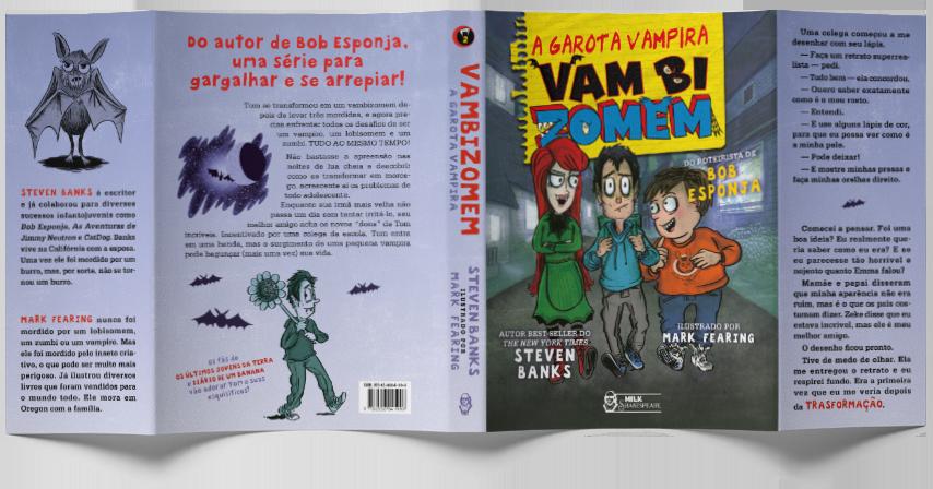 Vambizomem - A garota vampira - Steven Banks e Mark Fearing