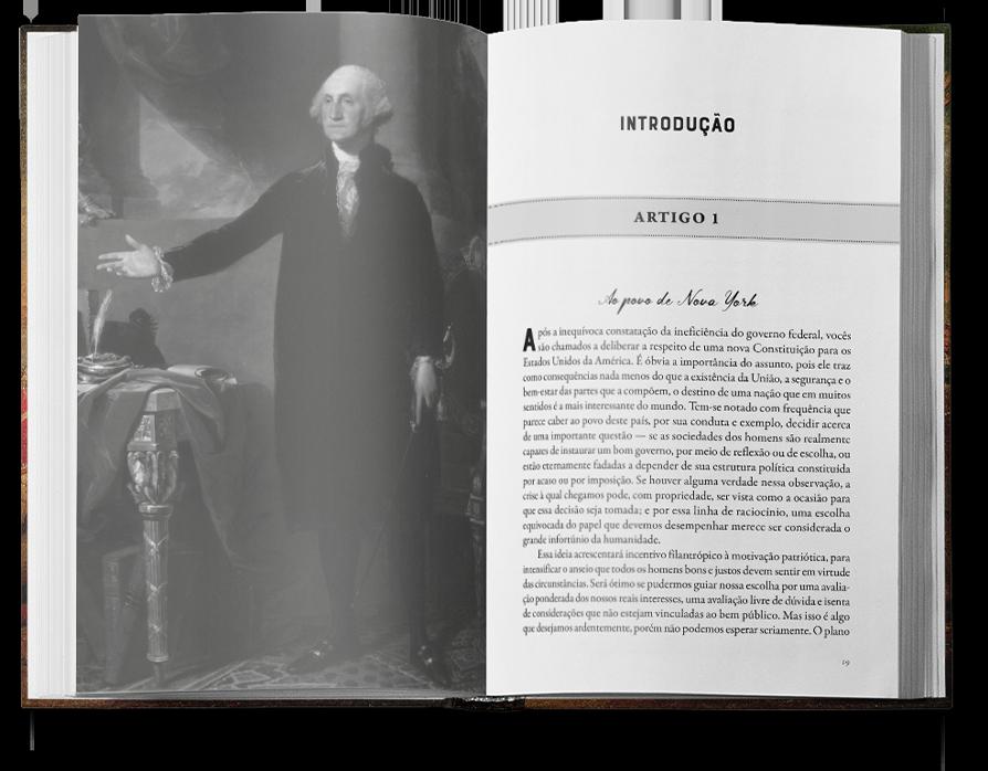 Os artigos federalistas - Alexander Hamilton - John Fay - James Madison