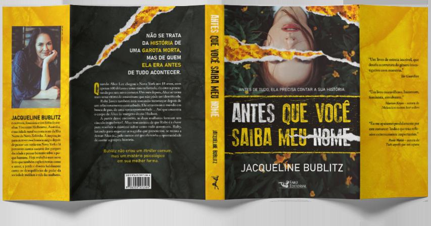 Antes que você saiba meu nome - Jacqueline Bublitz
